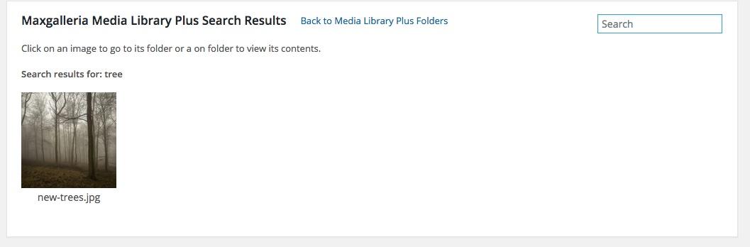 WordPress Media Library Folders - MaxGalleria