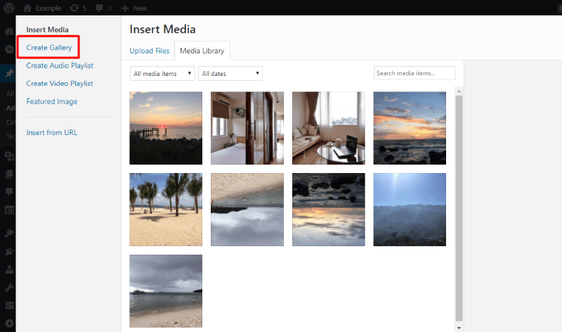How to add tiled gallery with jetpack