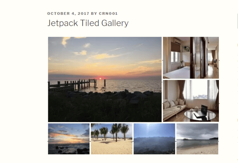 example of a jetpack tiled gallery