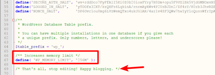 increase wordpress memory limit to fix http error and other common wordpress image errors