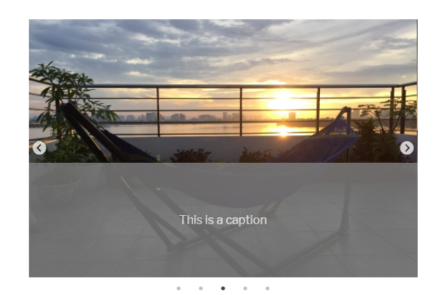 add a caption to slick slider for wordpress